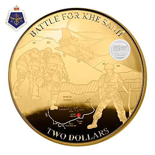 Battle for Khe Sanh Gold Proof Coin