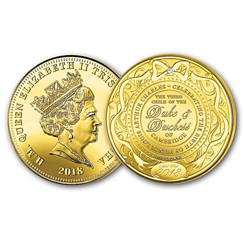 The HRH Prince Louis Five Crown Coin