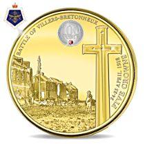 Battle of Villers-Bretonneux Centenary Five Crown Coin