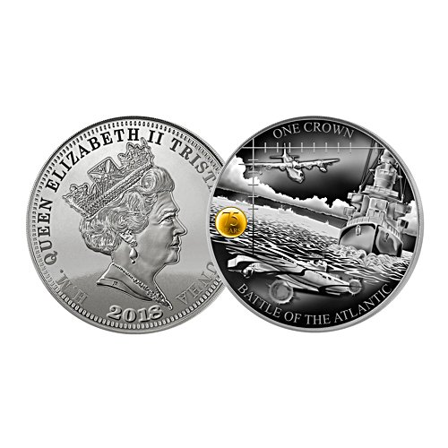 Battle for the Atlantic 75th Anniversary Silver Dollar
