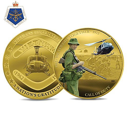 Veterans Call of Duty Coin