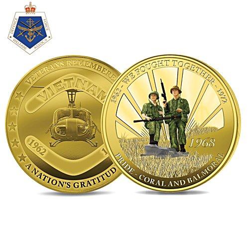 Veteran's Pride: Coral Balmoral Coin
