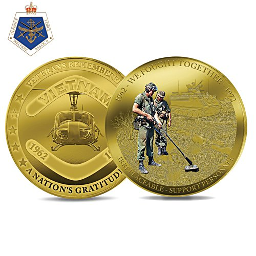 Irreplaceable: Support Personnel Coin