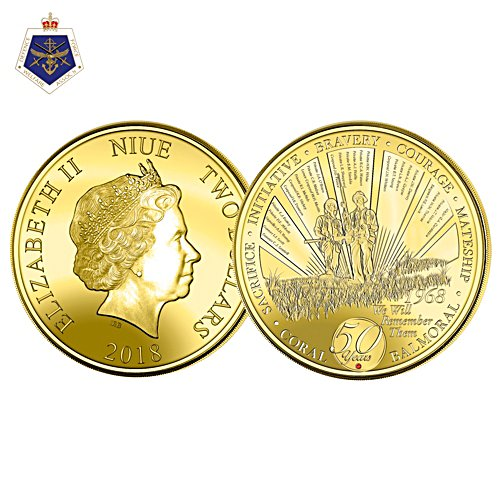 Vietnam's Battle of Coral and Balmoral 50th Anniversary Coin
