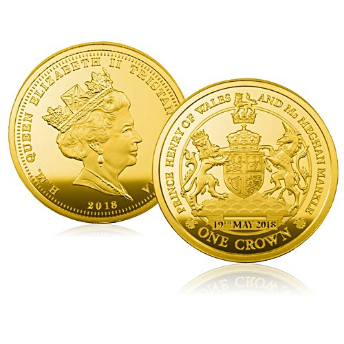 Royal Wedding Palace-Approved One Crown Coin
