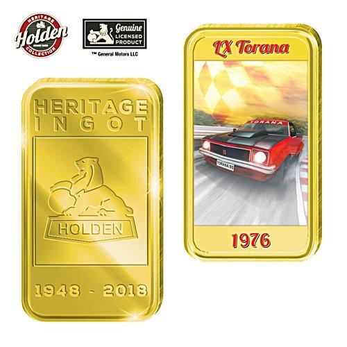 1976 LX Torana Holden Gold Ingot