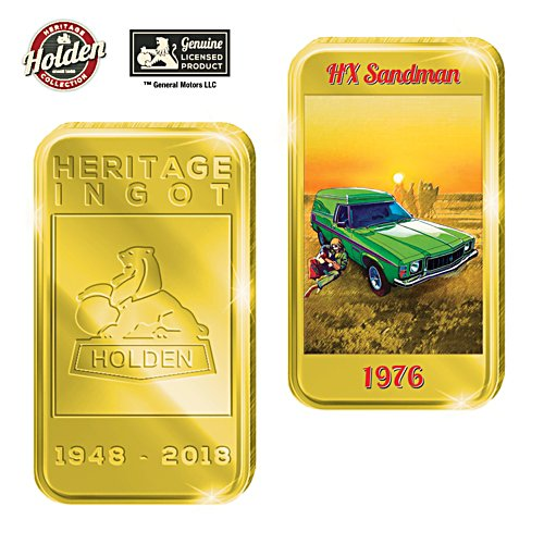 1976 HX Sandman Holden Gold Ingot