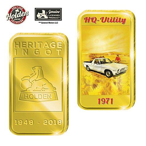 1971 HQ Utility Holden Gold Ingot