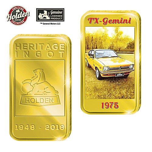 1975 TX Gemini Holden Gold Ingot