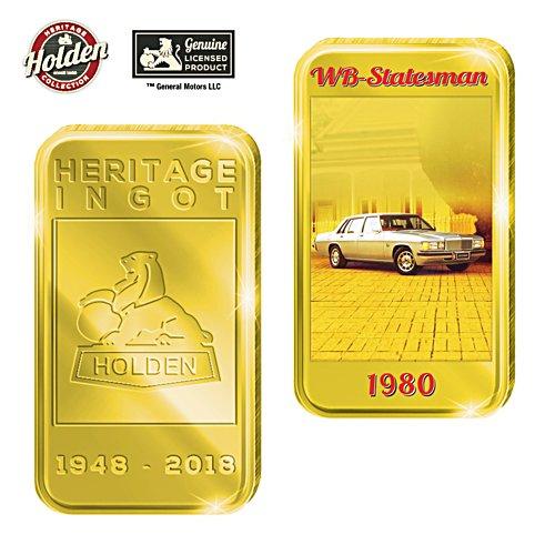 1980 WB Statesman Holden Gold Ingot