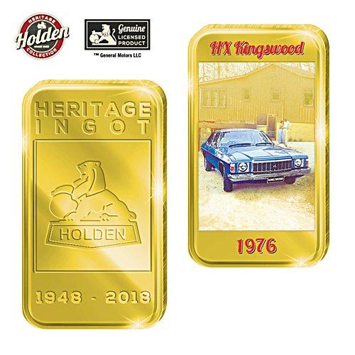 1976 HX Kingswood Holden Gold Ingot