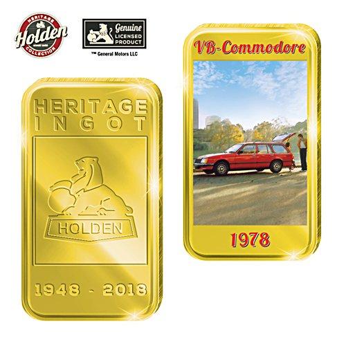 1978 VB Commodore Holden Gold Ingot