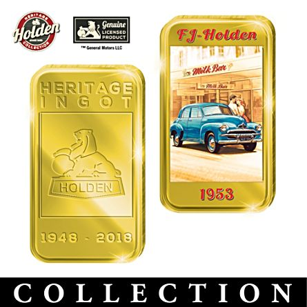 Holden Anniversary Gold Ingot Collection