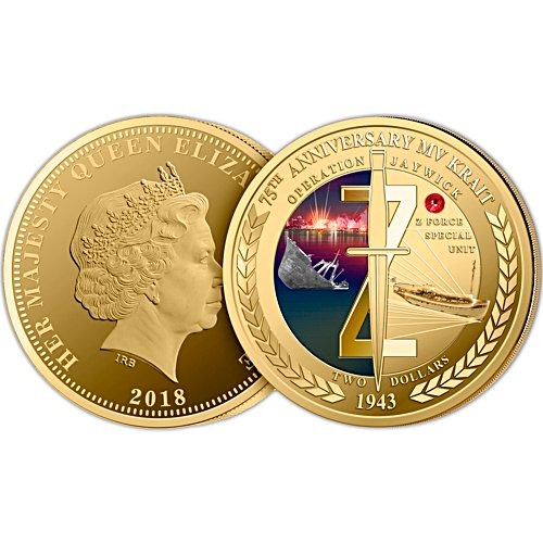 75th Anniversary Operation Jaywick Gold Proof Coin
