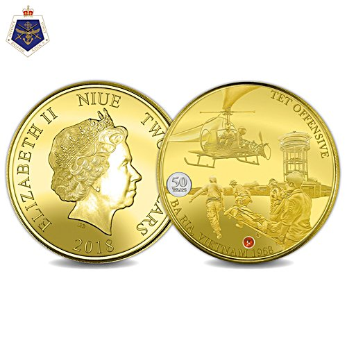 Tet Offensive 50th Anniversary Golden Proof Coin