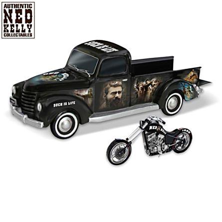 Ned Kelly's Rebel Ride Motorcycle Truck