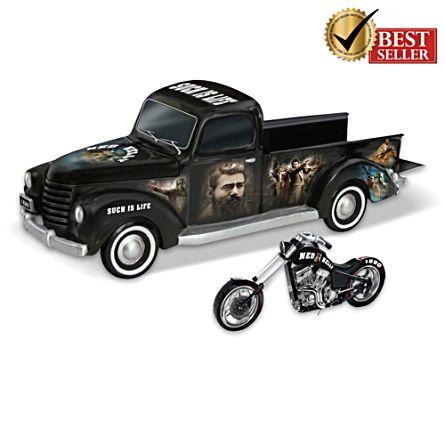 Ned Kelly's Rebel Ride Motorcycle Truck