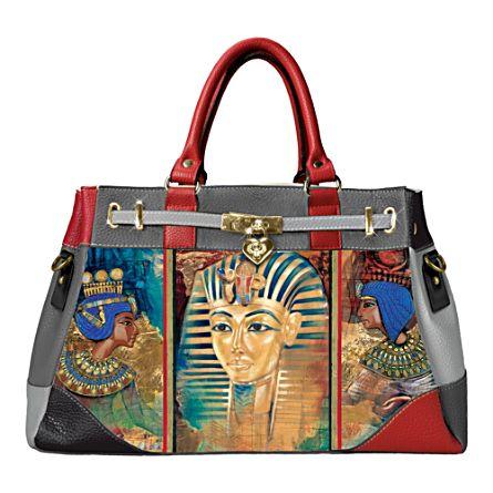 Treasures of Egypt Women's Handbag With Charm