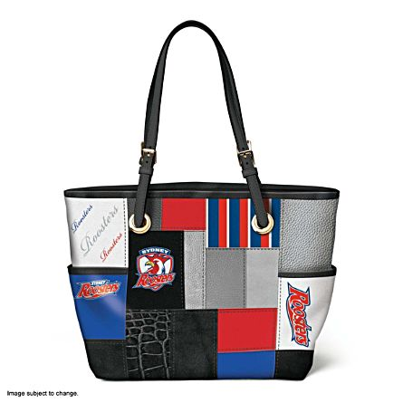 0f9ae6036a NRL Sydney Roosters Women s Tote Bag - The Bradford Exchange