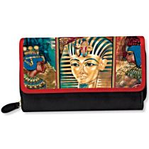 Treasures Of Egypt Women's Tri-Fold Wallet