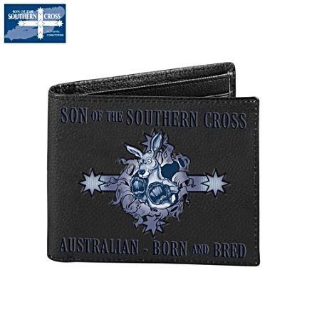 Son Of The Southern Cross Men's Leather Wallet