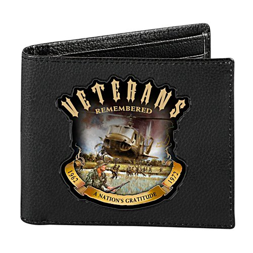 Veterans Remembered RFID Men's Wallet