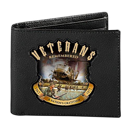 Veterans Remembered RFID Men's Wallet