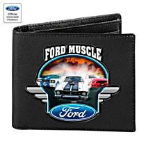 Ford Muscle Leather Wallet