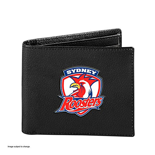 NRL Sydney Roosters RFID Blocking Leather Wallet
