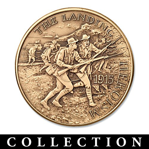 Spirit of Gallipoli Medallion Collection Honours Our Diggers