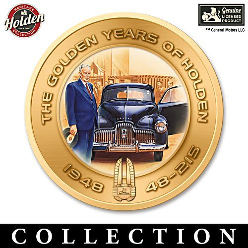 Golden Years of Holden Art-Accented Medallion Collection