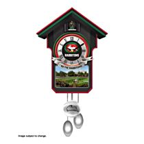 NRL South Sydney Rabbitohs Clock with Sound and Movement