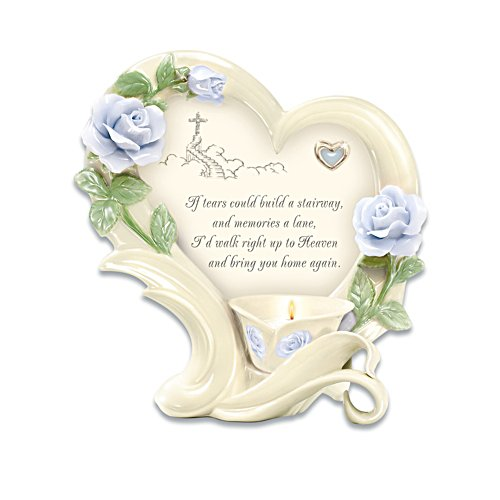 """Stairway To Heaven"" Bereavement Candleholder"