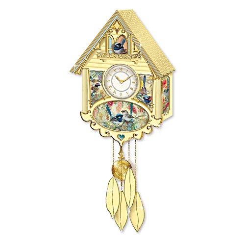 Fairy Wren Cuckoo Clock