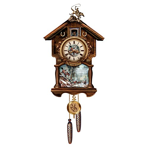The Man From Snowy River Clock with Sound and Motion