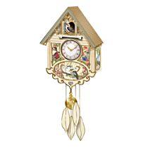 Joy Scherger 'Birds of the Bush' Cuckoo Clock