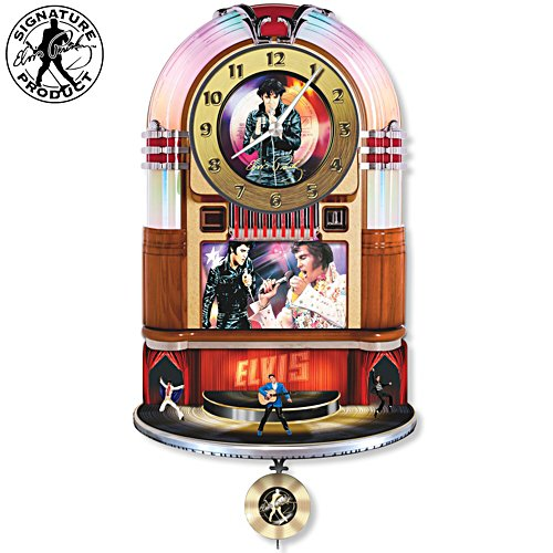 Elvis Presley Official 40th Anniversary Tribute Clock