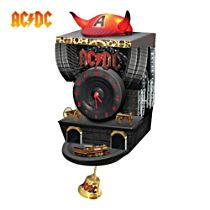 AC/DC Sculptured Cuckoo Clock With Sound and Motion