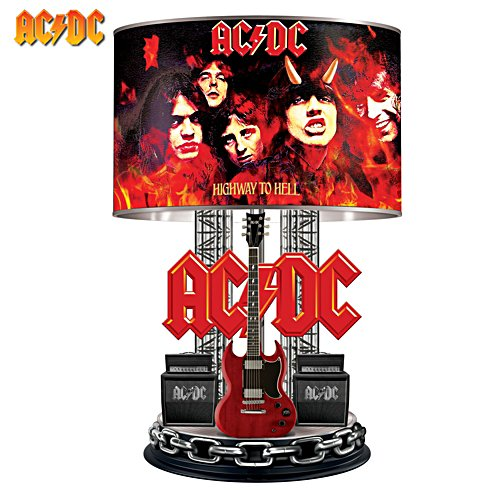 AC/DC Highway to Hell Table Lamp