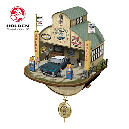 Holden EH Celebration Clock with Sound and Motion