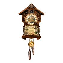 Lest We Forget Cuckoo Clock With Laurence Binyons' immortal Ode