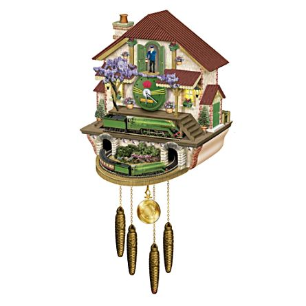 The 3801 Thoroughbred Cuckoo Clock