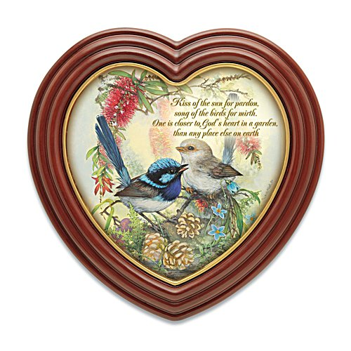 Fairy Wren Heart of the Garden Print
