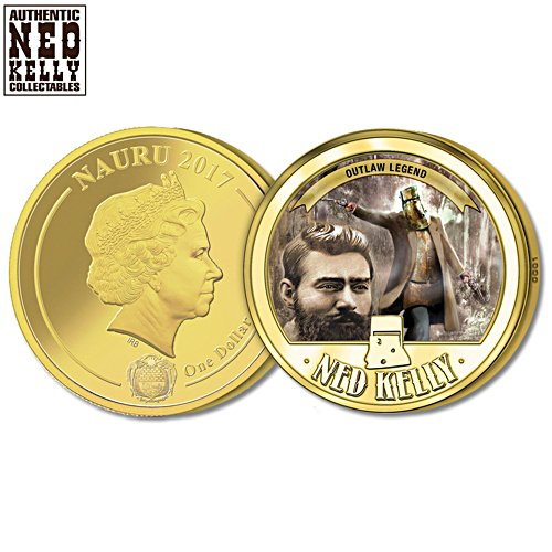 Ned Kelly Outlaw Legend Coin
