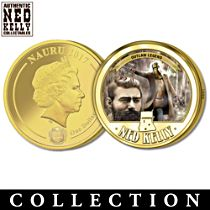 Ned Kelly Gold Proof Coin Collection