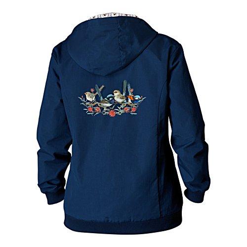 Fairy Wren Lightweight Hooded Jacket