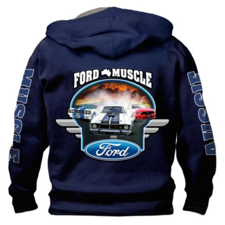 Ford Gt Muscle Mens Hoo