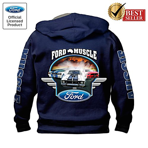 Ford GT Muscle Men's Hoodie
