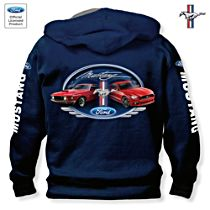 Ford Mustang Generations Men's Hoodie