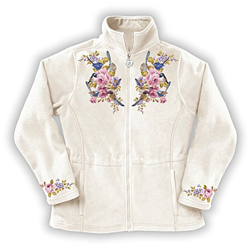 Fairy Wren Women's Fleece Jacket